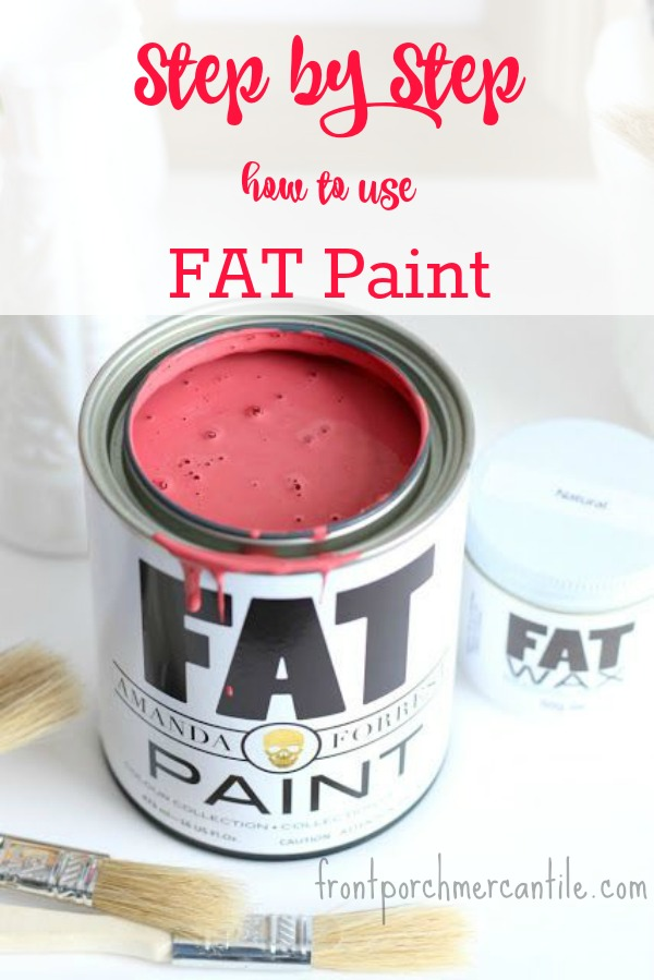 Step by Step Easy FAT Paint Tutorial