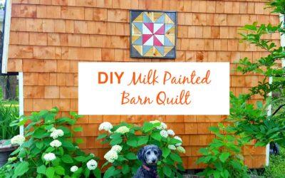Milk Painted Barn Quilt